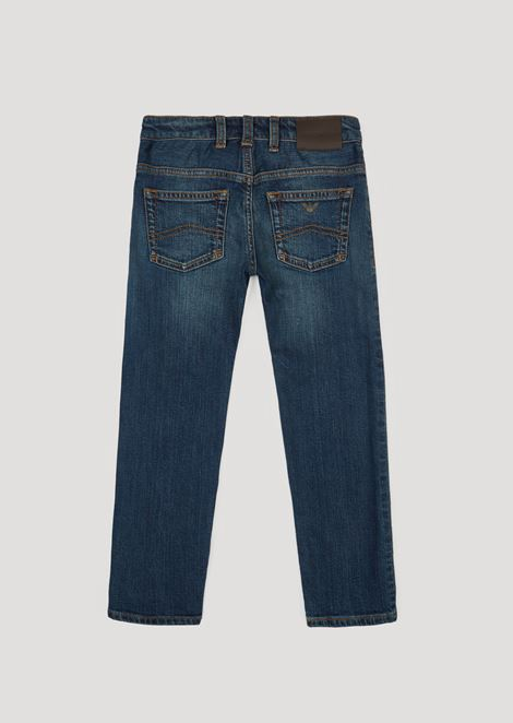 Slim fit jeans in 11.5oz comfort denim cotton