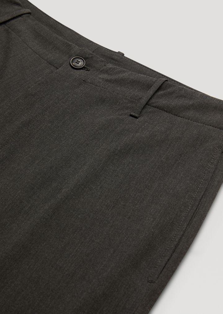 EMPORIO ARMANI Trousers in stretch tech twill Casual Trousers Man b