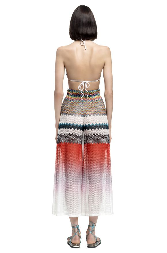 MISSONI Beachwear pants Woman, Rear view
