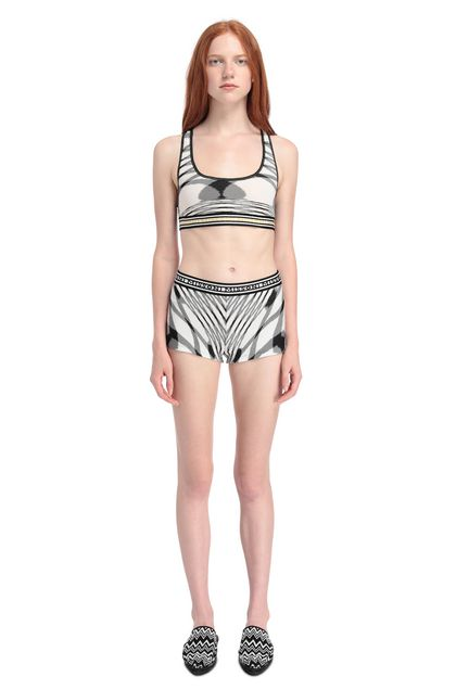 MISSONI MARE Shorts White Woman - Back