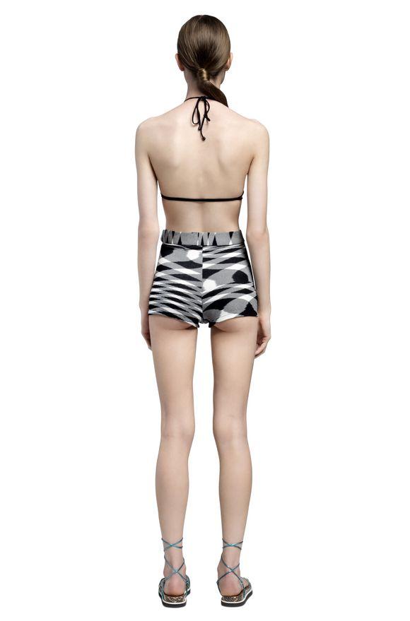 MISSONI Shorts Woman, Rear view