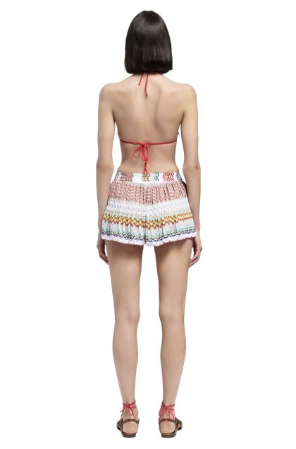 MISSONI Shorts White Woman - Front