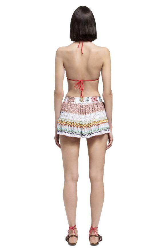 MISSONI Shorts Donna, Vista dal retro