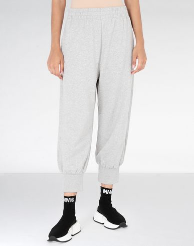 MM6 MAISON MARGIELA Casual pants Woman Cropped jersey joggers f