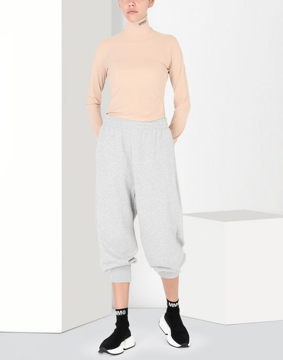 MM6 MAISON MARGIELA Cropped jersey joggers Casual pants [*** pickupInStoreShipping_info ***] r