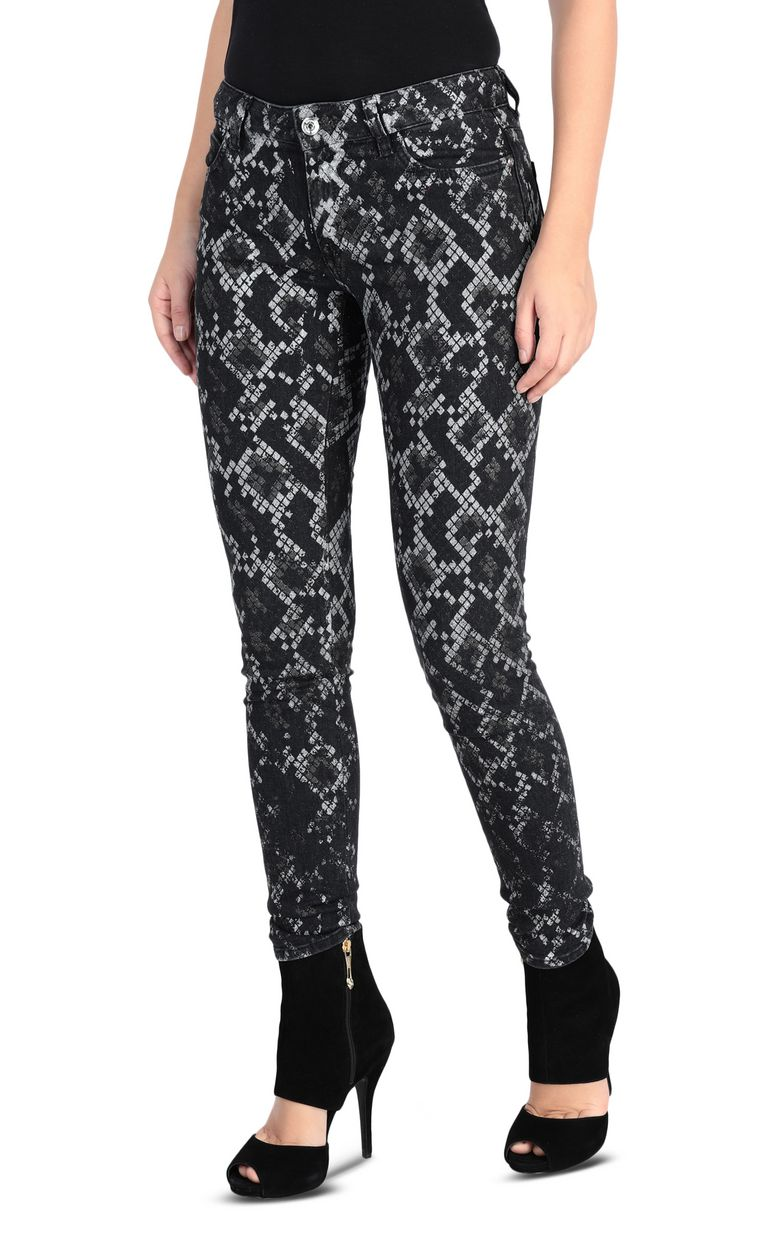 JUST CAVALLI 5-pocket python jeans Jeans [*** pickupInStoreShipping_info ***] f