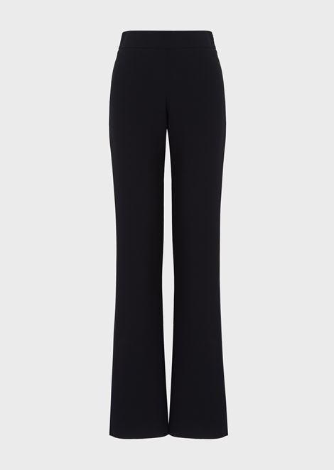 Mulberry silk palazzo trousers