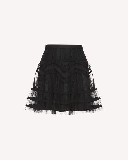 REDValentino Skirt Woman QR3RA02X3U1 0NO a