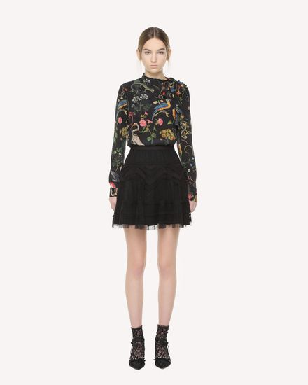 REDValentino Skirt Woman QR3RA02X3U1 0NO f