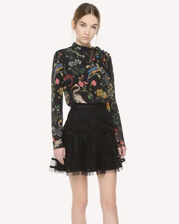 REDValentino QR3RA02X3U1 0NO Skirt Woman d