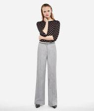 KARL LAGERFELD Elegante Hose aus einem Wolle-Mix 9_f