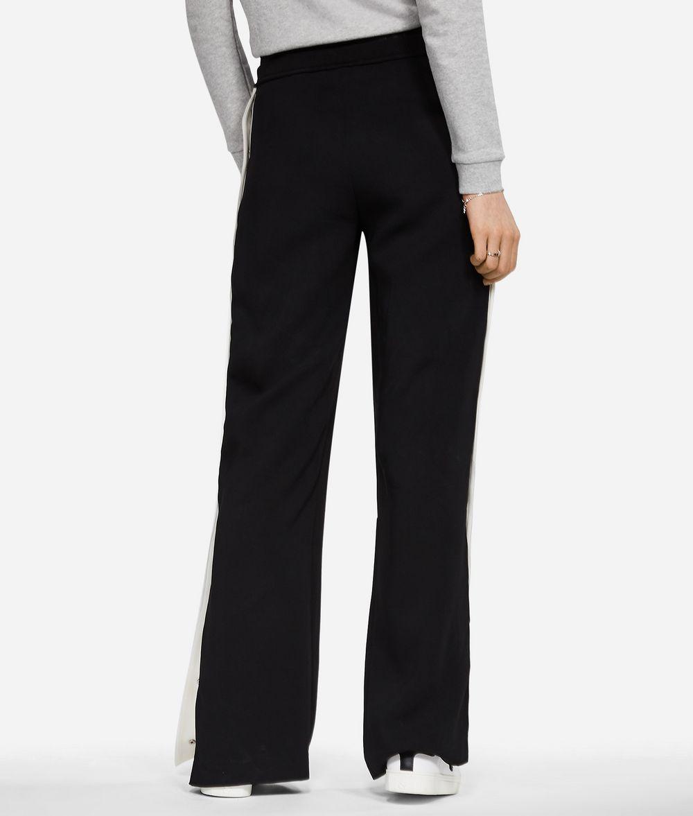 KARL LAGERFELD Wide Leg Logo Sweatpants Pants Woman d