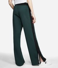 KARL LAGERFELD Wide Leg Logo Sweatpants Trousers Woman r