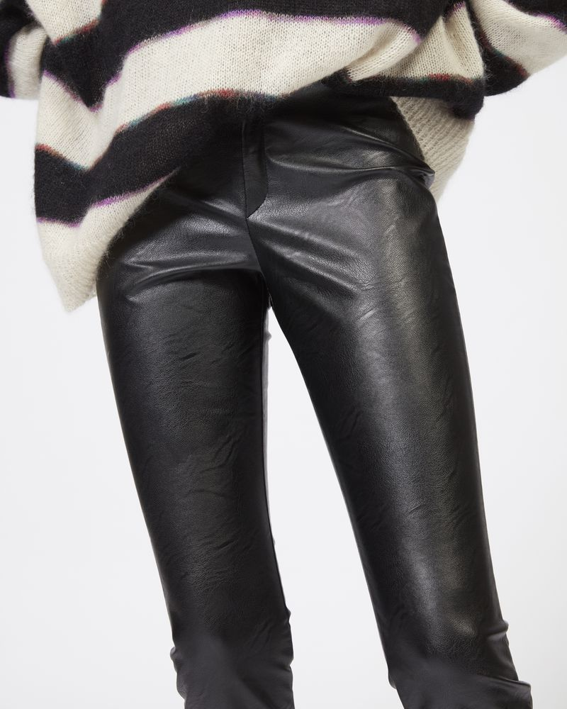 ZEFFERY faux leather leggings ISABEL MARANT ÉTOILE