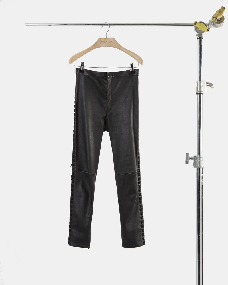 MEDLEY leather leggings ISABEL MARANT