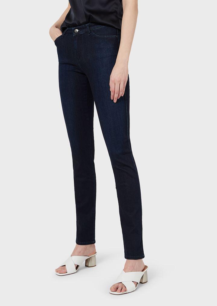 d7affbbed8 J18 super skinny high waist jeans in stretch denim