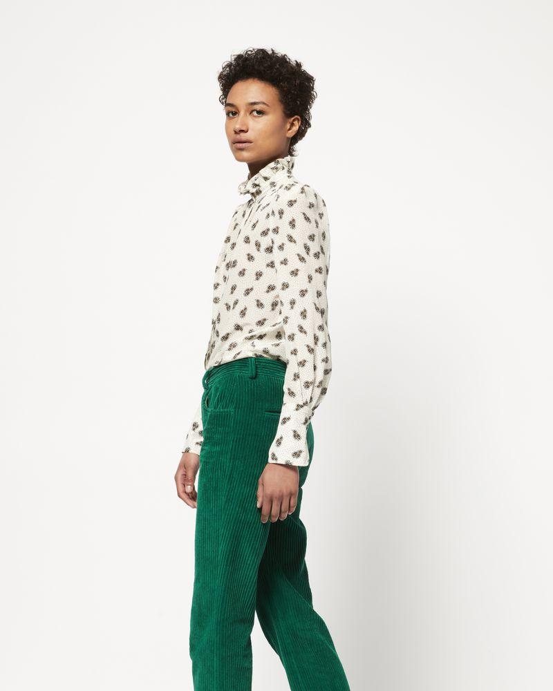 MEREO velvet trousers ISABEL MARANT