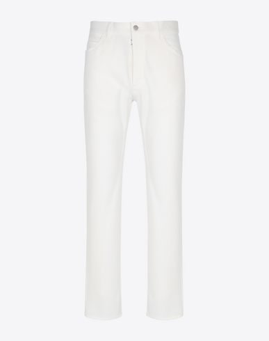 MAISON MARGIELA Casual pants [*** pickupInStoreShippingNotGuaranteed_info ***] Casual cotton trousers f
