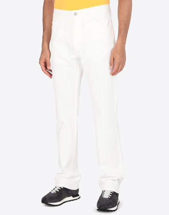 MAISON MARGIELA Casual cotton trousers Casual pants [*** pickupInStoreShippingNotGuaranteed_info ***] r