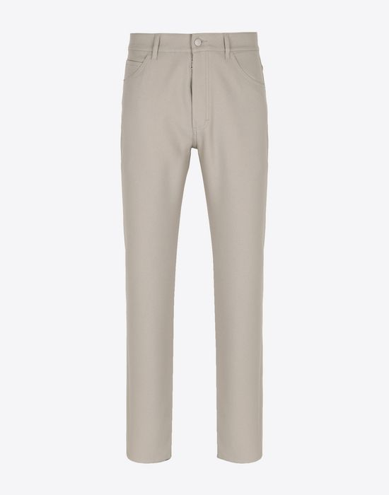 MAISON MARGIELA Casual cotton trousers Casual pants [*** pickupInStoreShippingNotGuaranteed_info ***] f