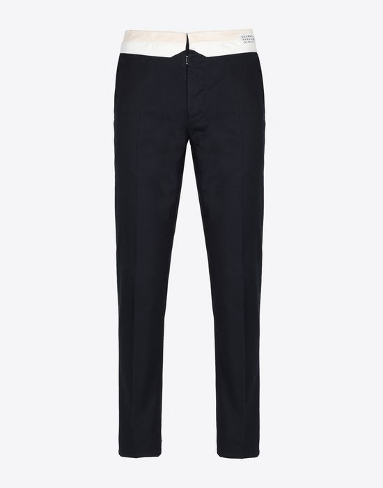 MAISON MARGIELA Washed chino fit trousers Casual pants [*** pickupInStoreShippingNotGuaranteed_info ***] f