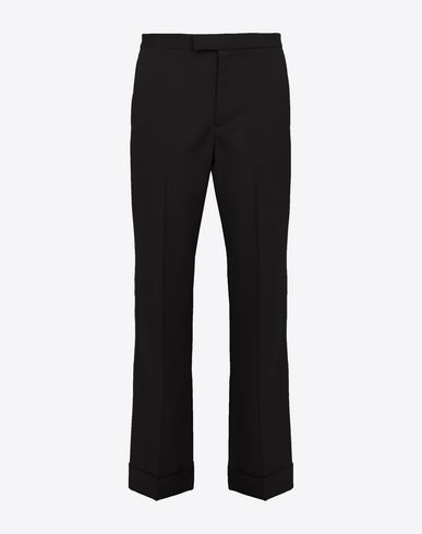 MAISON MARGIELA Pantalon Femme Mixed-wool trousers  f