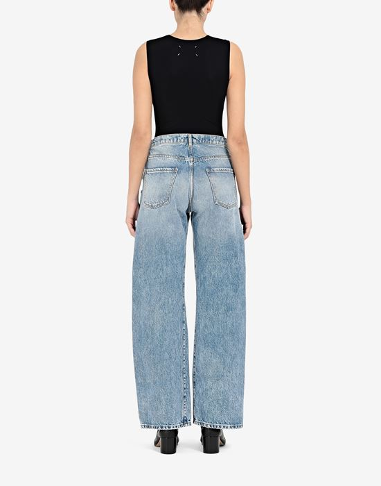 MAISON MARGIELA Straight jeans with contrasted pockets Jeans [*** pickupInStoreShipping_info ***] e