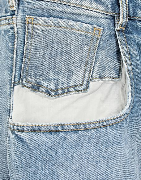 MAISON MARGIELA Straight jeans with contrasted pockets Jeans Woman b
