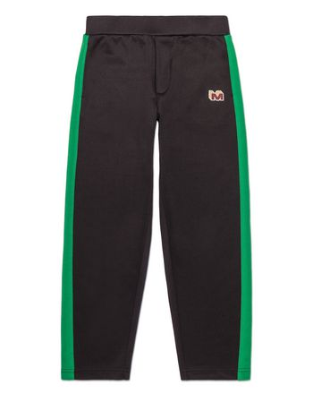Marni TRIACETATE PANTS WITH PATCH Man