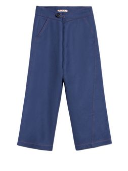 Marni FLARED WOOL TROUSERS  Woman