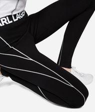 KARL LAGERFELD Punto Jersey Leggings  9_f