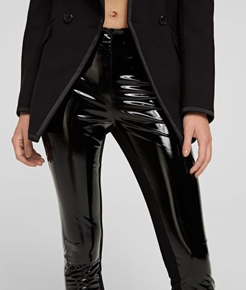 KARL LAGERFELD KARL PATENT LEGGINGS