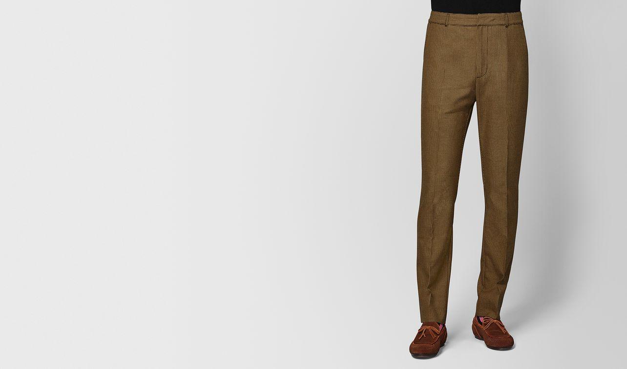 camel/nero wool pant landing