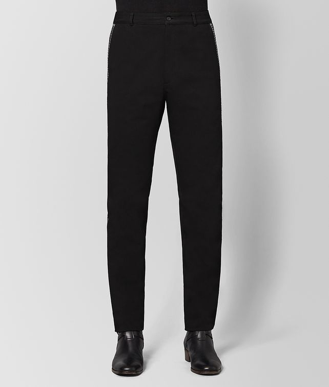 BOTTEGA VENETA NERO COTTON PANT Trouser or jeans [*** pickupInStoreShippingNotGuaranteed_info ***] fp