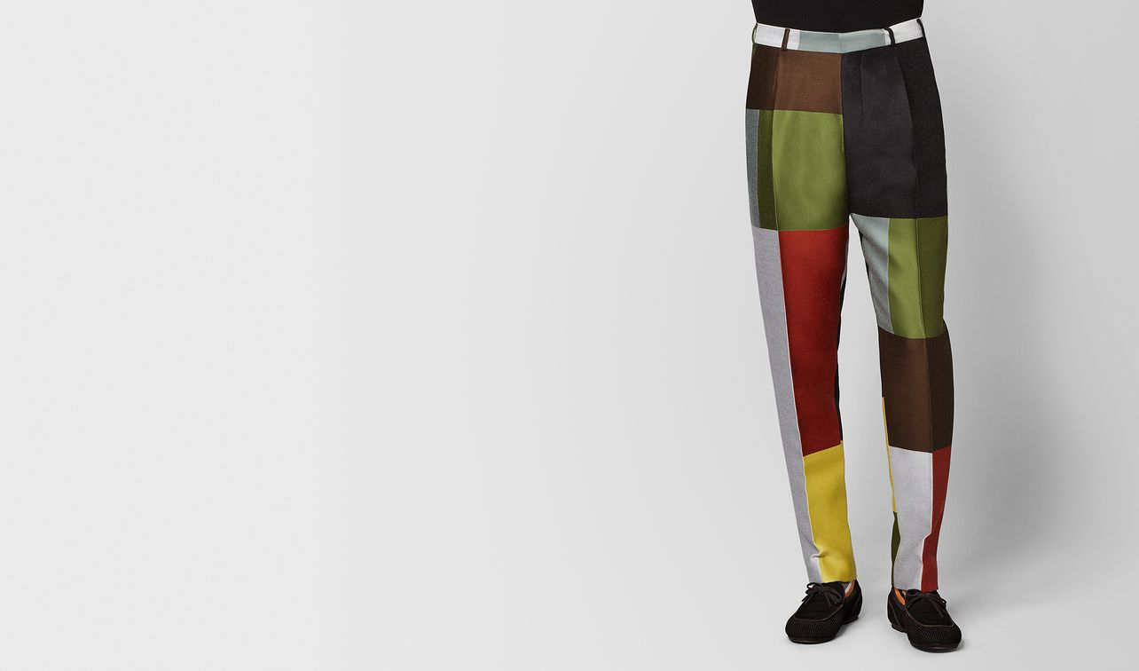 multicolor wool pant landing
