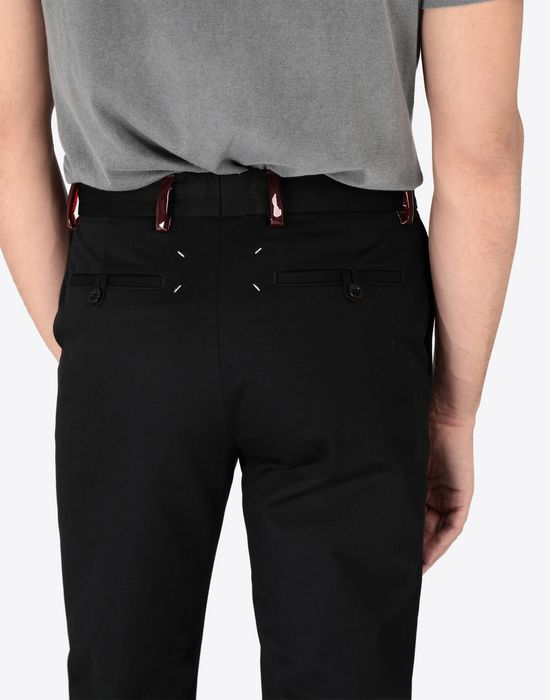 MAISON MARGIELA Classic wool-blend trousers Casual pants [*** pickupInStoreShippingNotGuaranteed_info ***] b