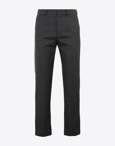 MAISON MARGIELA Casual pants [*** pickupInStoreShippingNotGuaranteed_info ***] Classic wool-blend trousers f