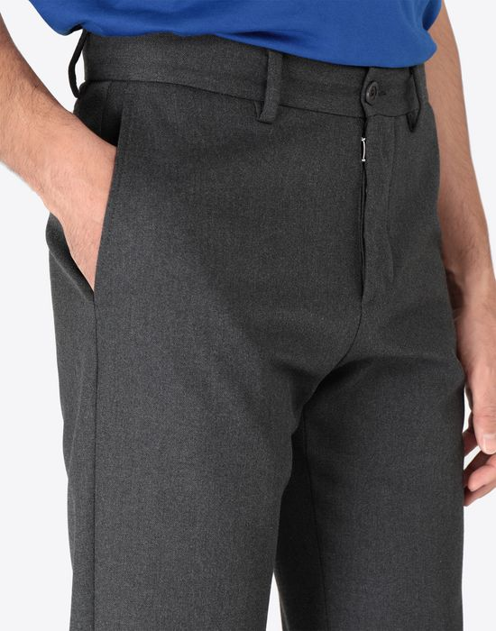 MAISON MARGIELA Classic wool-blend trousers Casual pants [*** pickupInStoreShippingNotGuaranteed_info ***] a