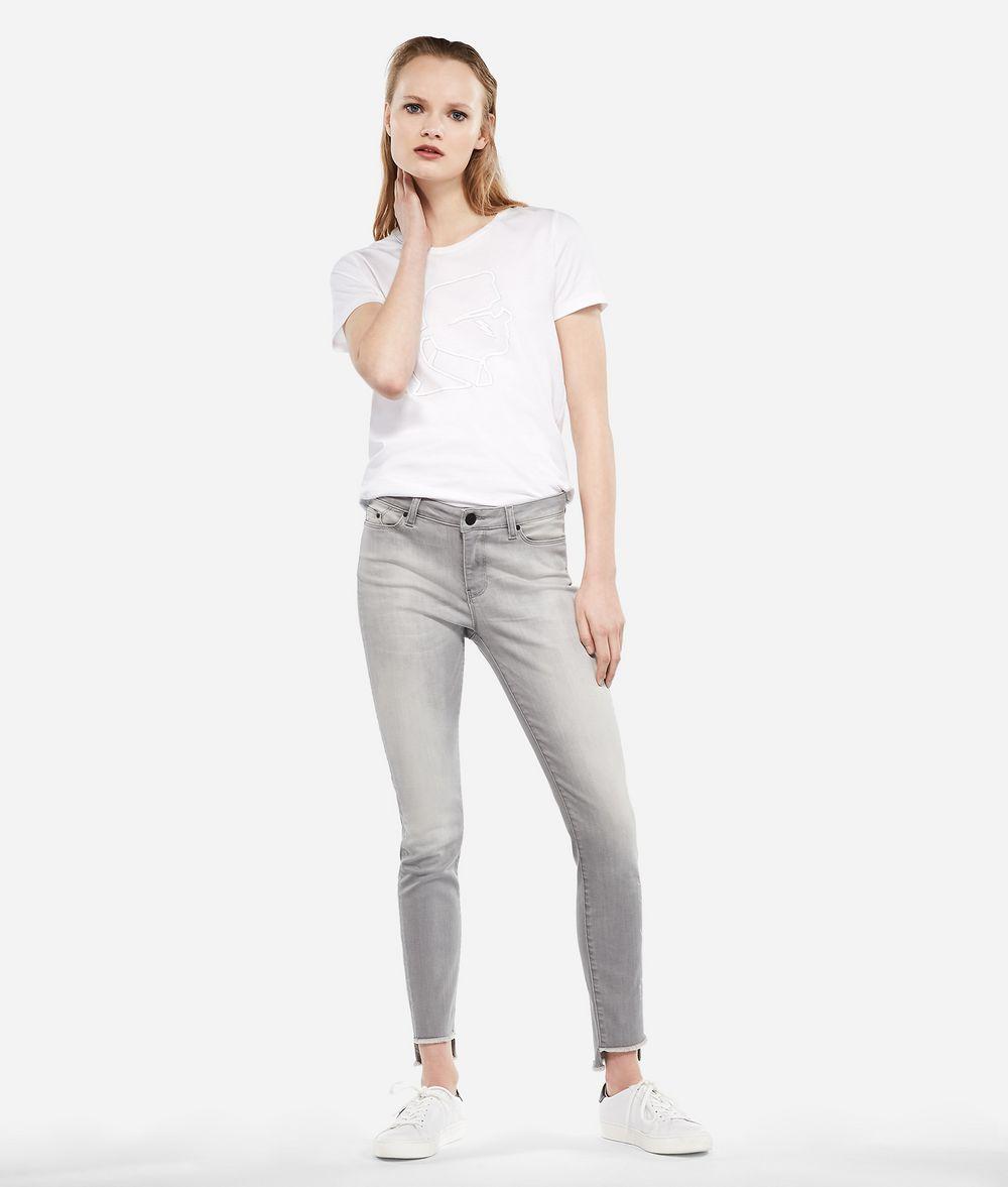 KARL LAGERFELD Knöchellange Skinny Jeans  Hose Damen f