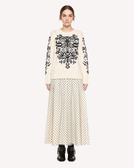 REDValentino Skirt Woman QR0RA38041H A03 f