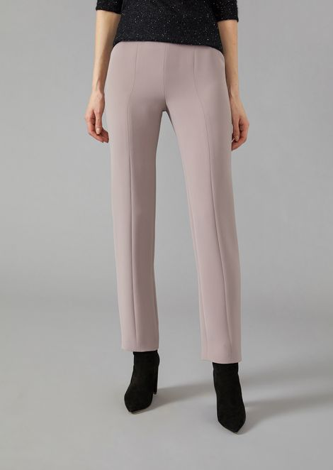 Cady flared trousers