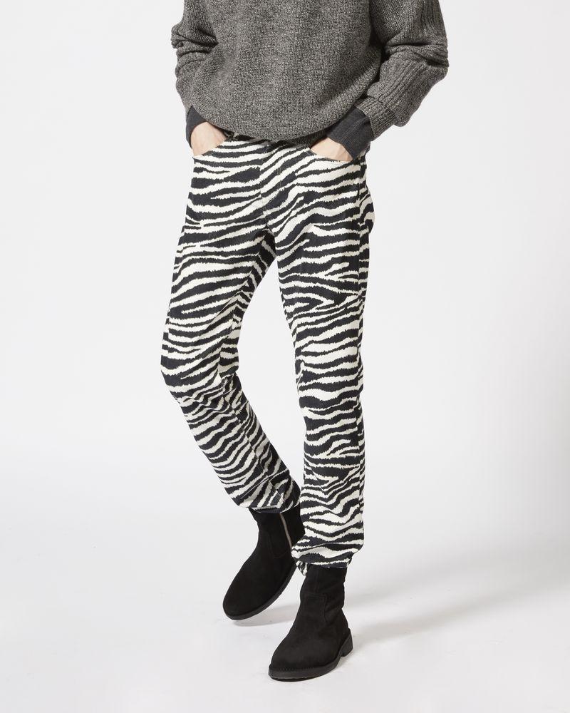 KANH printed slim fit jeans ISABEL MARANT