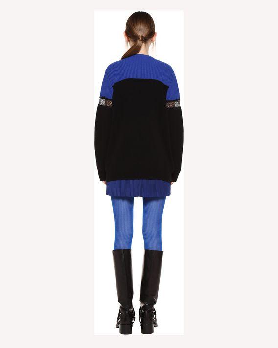 REDValentino Pleated shorts in Techno Taffeta
