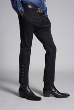DSQUARED2 Chic Stretch Wool Cigarette Pants Pants Man