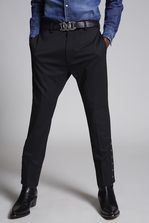 DSQUARED2 Chic Stretch Wool Cigarette Pants Hose Herren