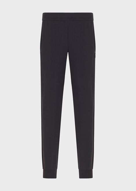 French terry cotton joggers