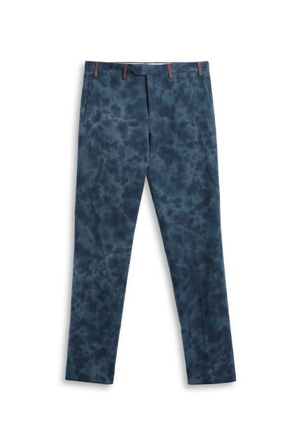 MISSONI Trouser Slate blue Man - Back