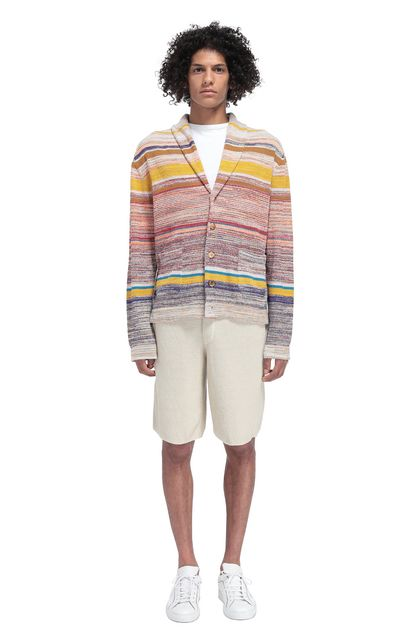 MISSONI Shorts Beige Man - Front
