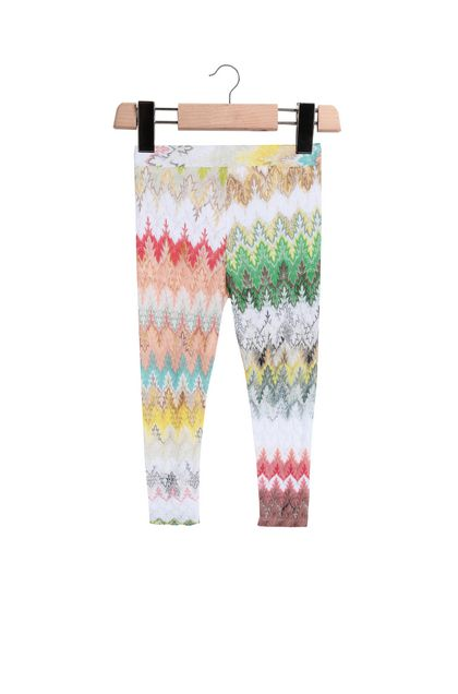 MISSONI KIDS Leggings  Weiß Damen - Vorderseite
