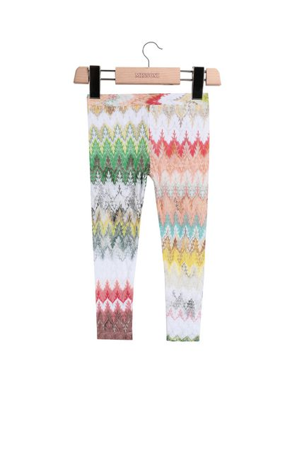 MISSONI KIDS Leggings  Weiß Damen - Rückseite